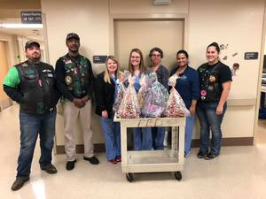 Easter Baskets and NICU unit Tupelo MS