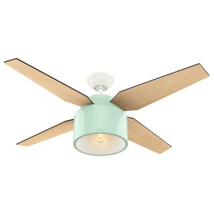 39 blade standard ceiling fan with pull chain and light kit included joss & main 18
