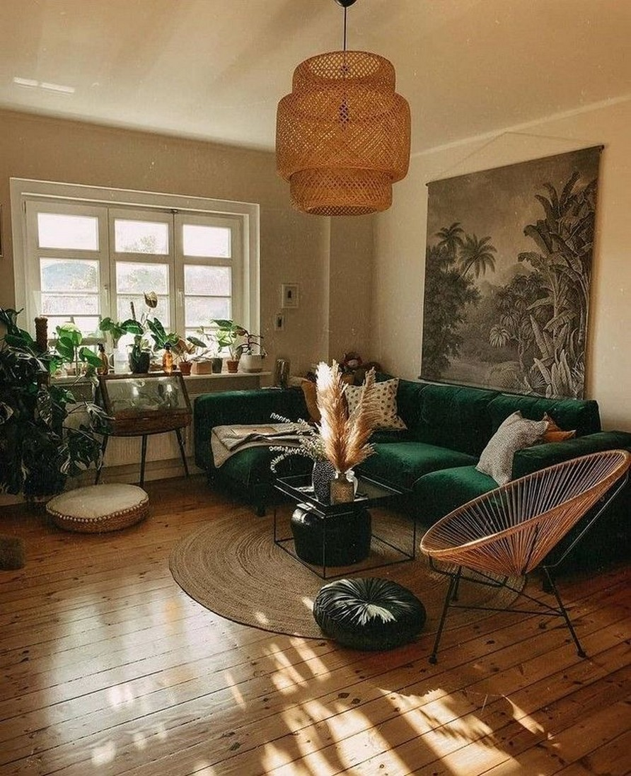 45 ideas to decorate your room with plants 10