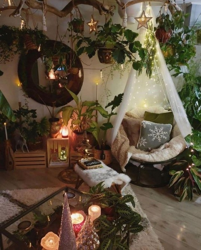 45 ideas to decorate your room with plants 14