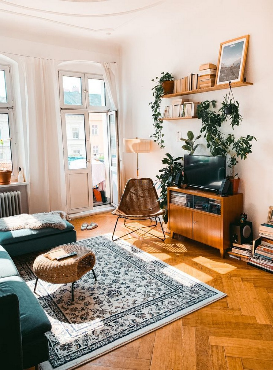 45 ideas to decorate your room with plants 36