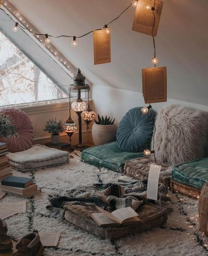 45 ideas to decorate your room with plants 6