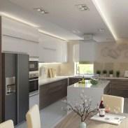 55 eclairage faux plafond cuisine 2