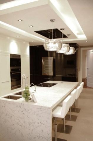 55 eclairage faux plafond cuisine 9