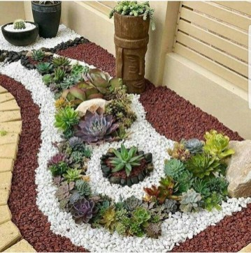 57 Impressive Front Garden Design Ideas To Try In Your Home 33