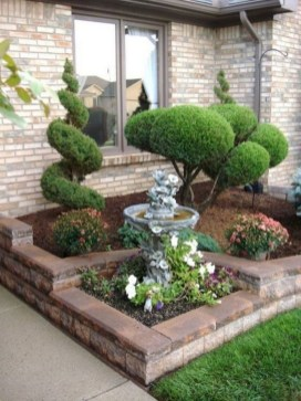 57 Impressive Front Garden Design Ideas To Try In Your Home 44