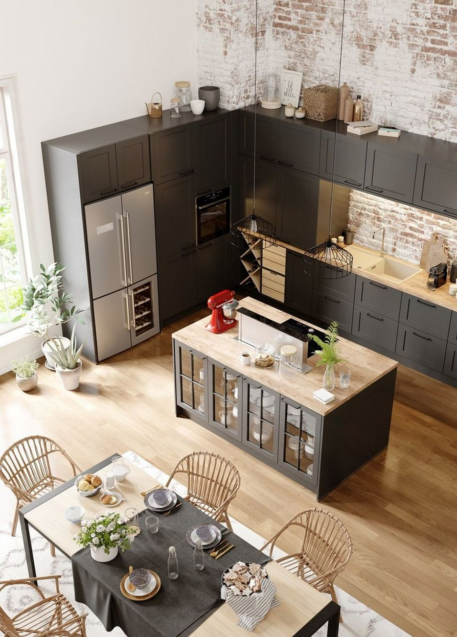 58 Kitchen Island Ideas To Add That Perfect Blend Of Drama Design Hike N Dip 54