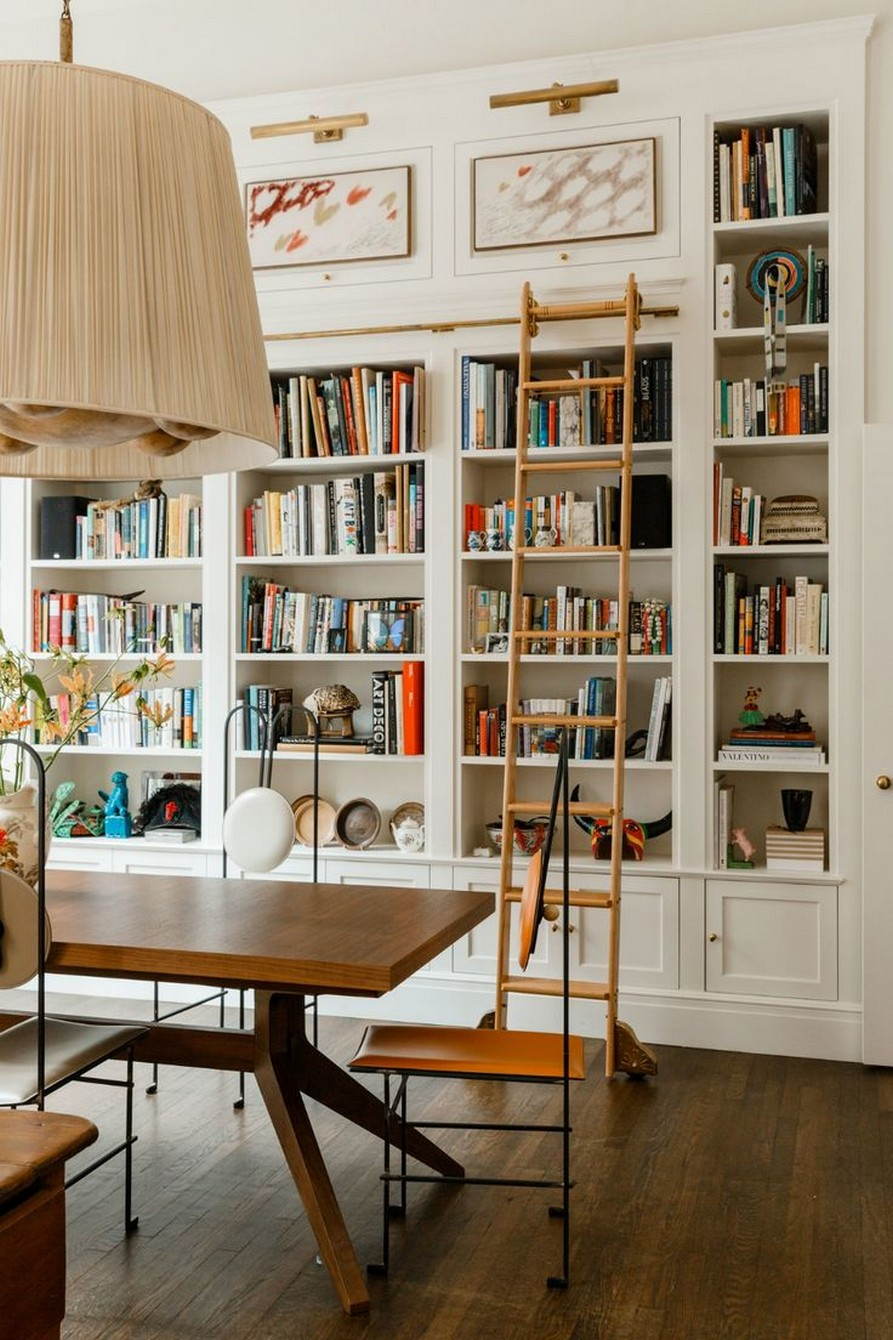 61 Stylish Ways To Display Bookshelves With A Lot Of Books Posh Pennies 29