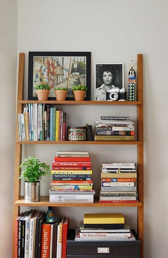 61 Stylish Ways To Display Bookshelves With A Lot Of Books Posh Pennies 59