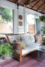 65 creative balcony design ideas with swing chair that more awesome #outdoorspace 24