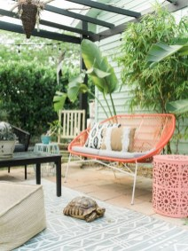 65 creative balcony design ideas with swing chair that more awesome #outdoorspace 27