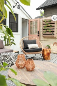 65 creative balcony design ideas with swing chair that more awesome #outdoorspace 32