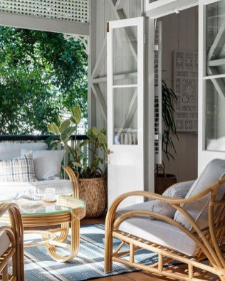 65 creative balcony design ideas with swing chair that more awesome #outdoorspace 36