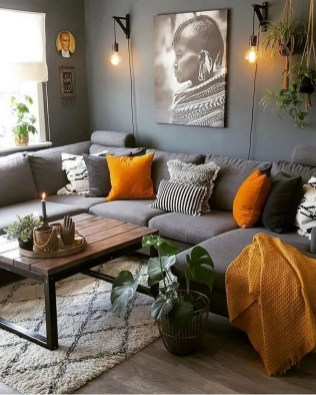 71 Inspiring Living Room Wall Decoration Ideas You Can Try 25
