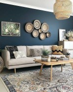 71 Inspiring Living Room Wall Decoration Ideas You Can Try 54