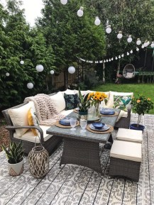 33 Classy Patio Ideas Including Furniture And Lighting 14