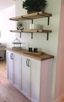 37 How To Make Open Shelving A DIY Wood Shelf Tutorial 11