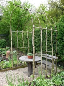 39 Inspired Garden Gates For A Beautiful Backyard 38