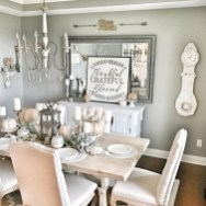 41 Rustic Dining Rooms That Will Make Your Farmhouse Shine 23