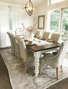 41 Rustic Dining Rooms That Will Make Your Farmhouse Shine 38