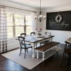 41 Rustic Dining Rooms That Will Make Your Farmhouse Shine 39