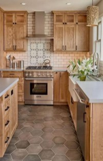 42 Stunning French Country Kitchen Decor Ideas 15