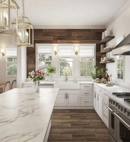 42 Stunning French Country Kitchen Decor Ideas 30