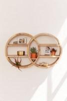 63 malta round wood wall shelf 22