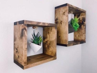 63 malta round wood wall shelf 23