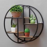 63 malta round wood wall shelf 27