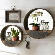 63 malta round wood wall shelf 29