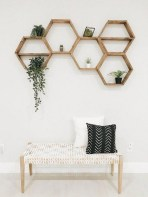 63 malta round wood wall shelf 36