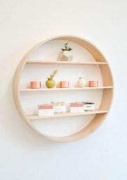 63 malta round wood wall shelf 42