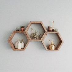 63 malta round wood wall shelf 43