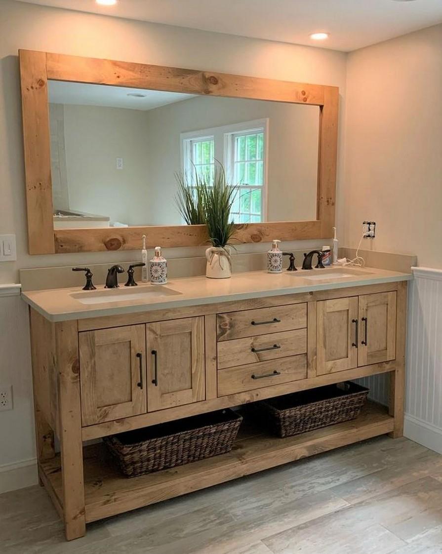 10 Farmhouse Bathroom Remodel Home Decor 11
