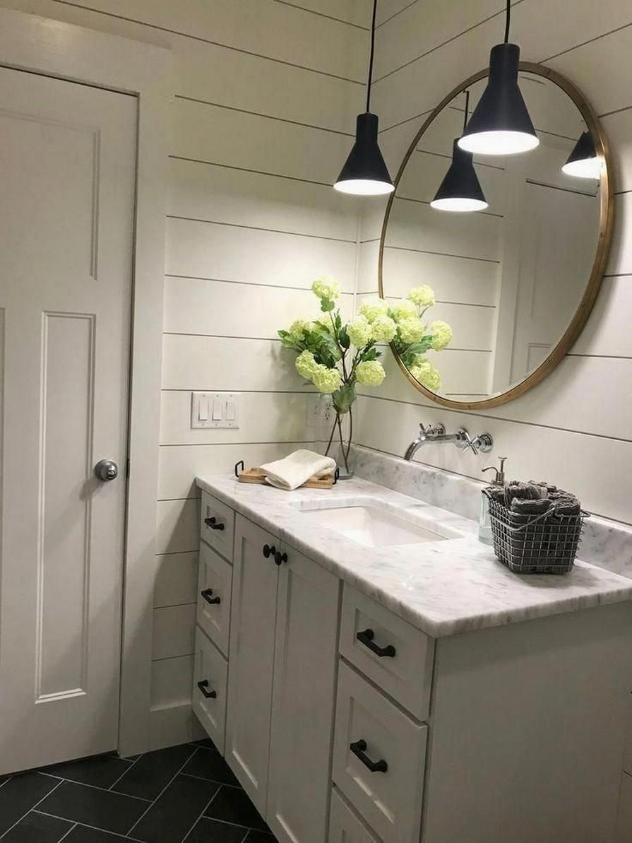 10 Farmhouse Bathroom Remodel Home Decor 5