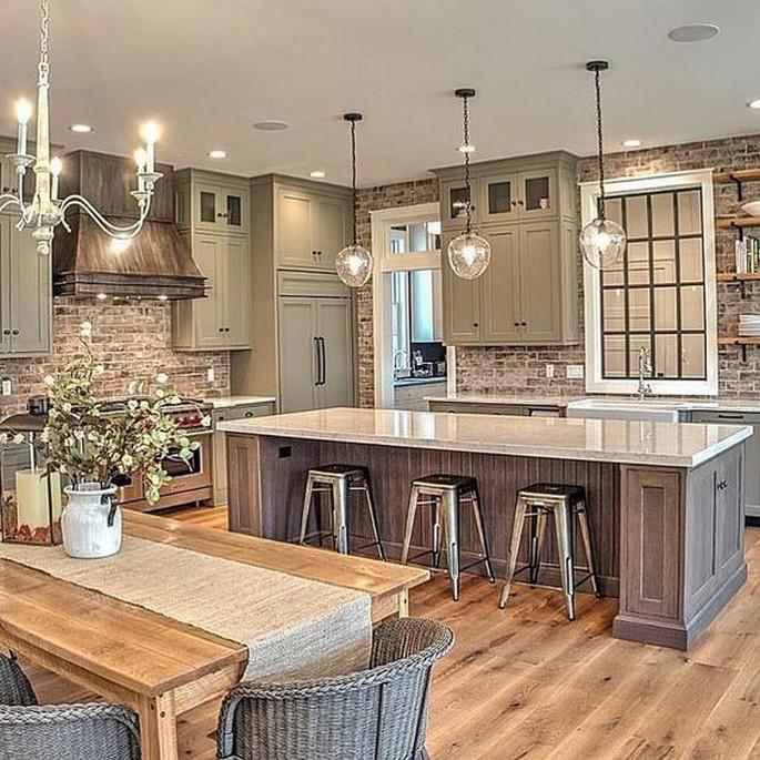10 Farmhouse Kitchen Sinks Home Decor 14