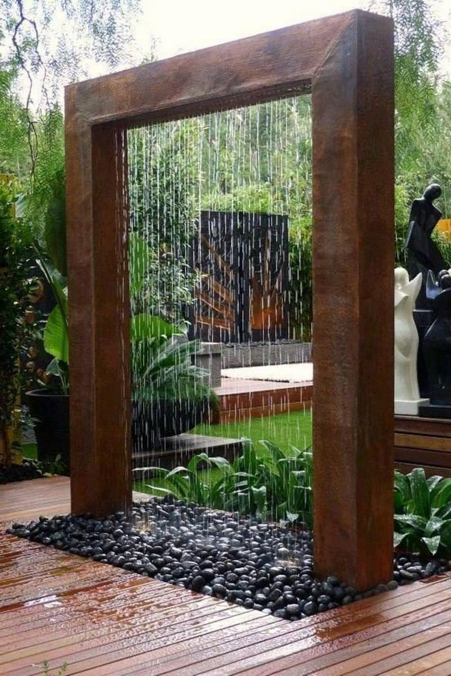 11 Delightful Garden Waterfall Home Decor 3