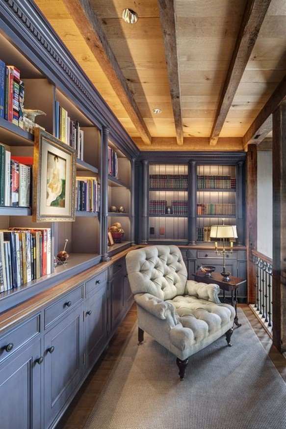 11 Home Library Furniture Ideas – Home Decor 18