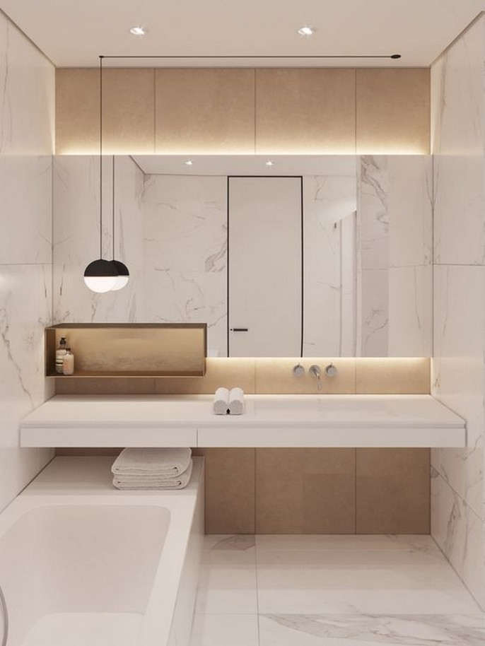 11 MOdern Bathroom Design Ideas Home Decor 56
