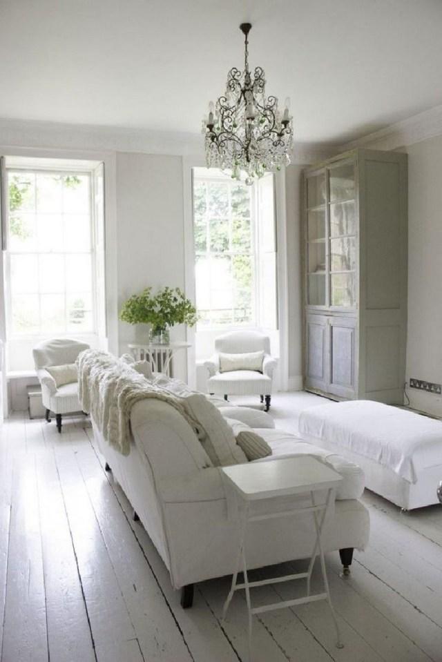 12 White Living Room Elegant Home Decor 10