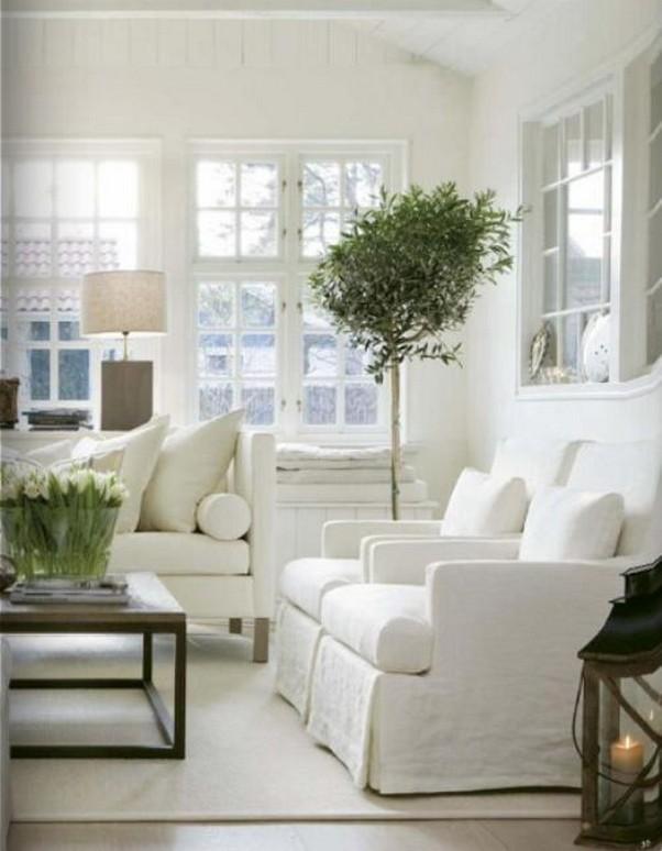12 White Living Room Elegant Home Decor 3