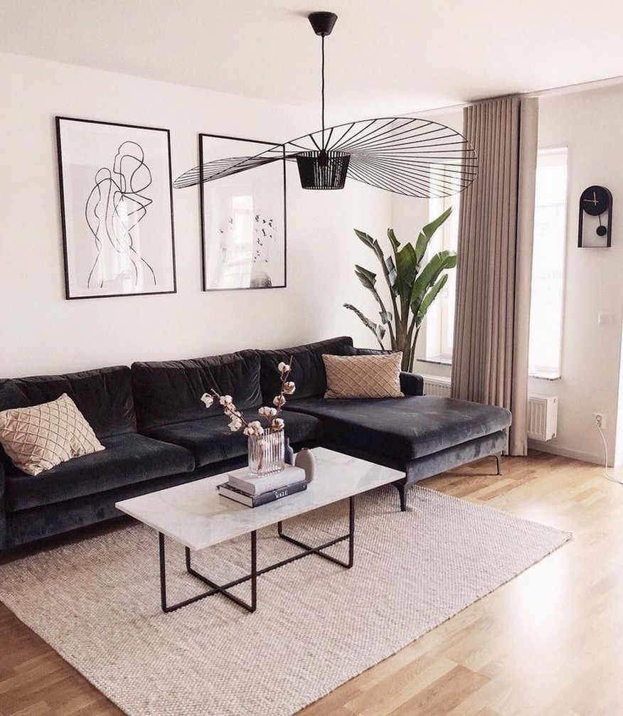 98 Living Room Decor Ideas For The Comfort Of Your Rest Home Decor 23