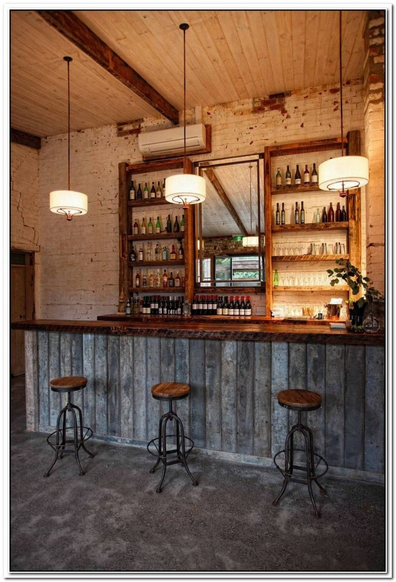 60 Man Cave Bar Ideas To Slake Your Thirst 33