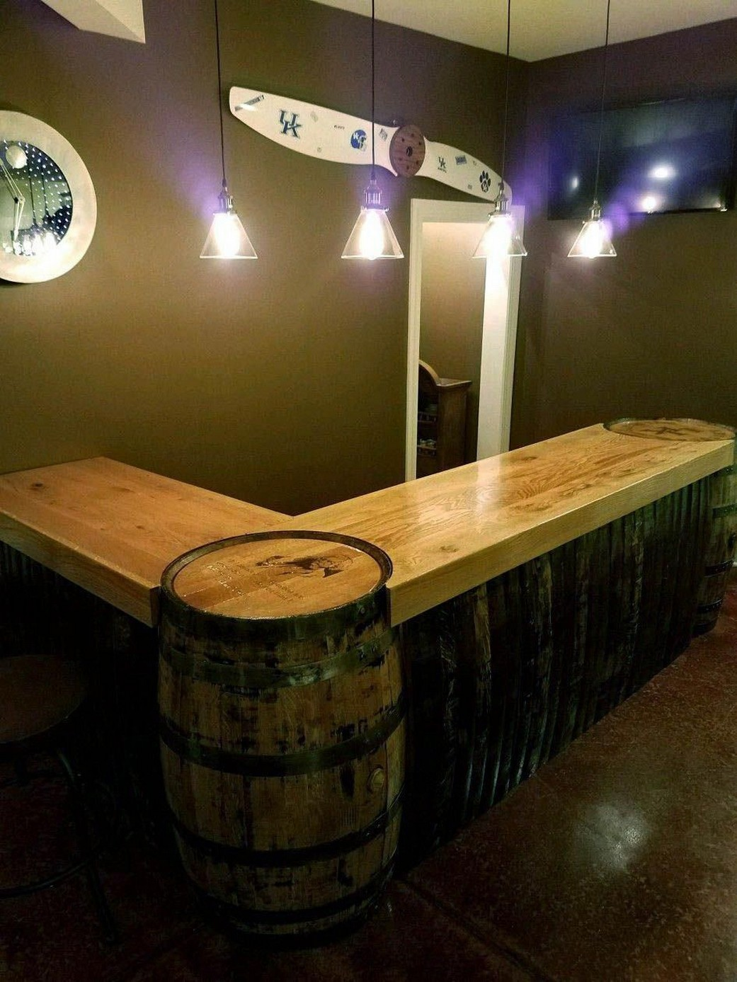 60 Man Cave Bar Ideas To Slake Your Thirst 45
