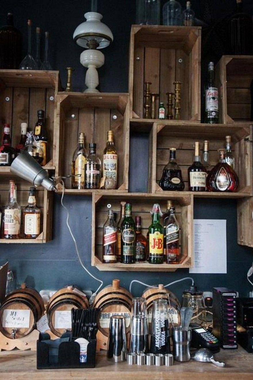 60 Man Cave Bar Ideas To Slake Your Thirst 46