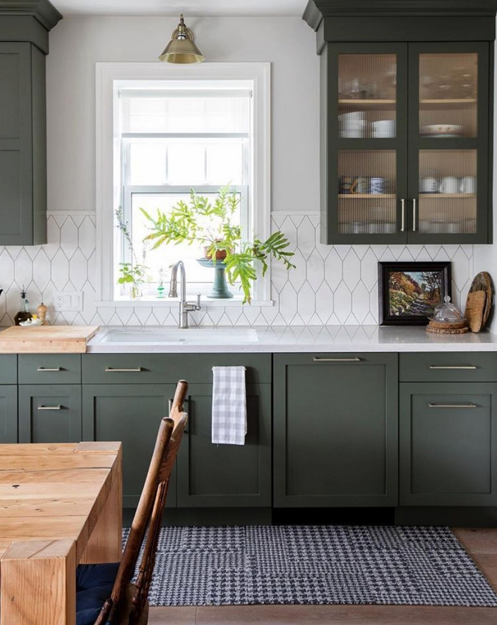 71 Painted Kitchen Cabinets Ideas For Home Decor 26