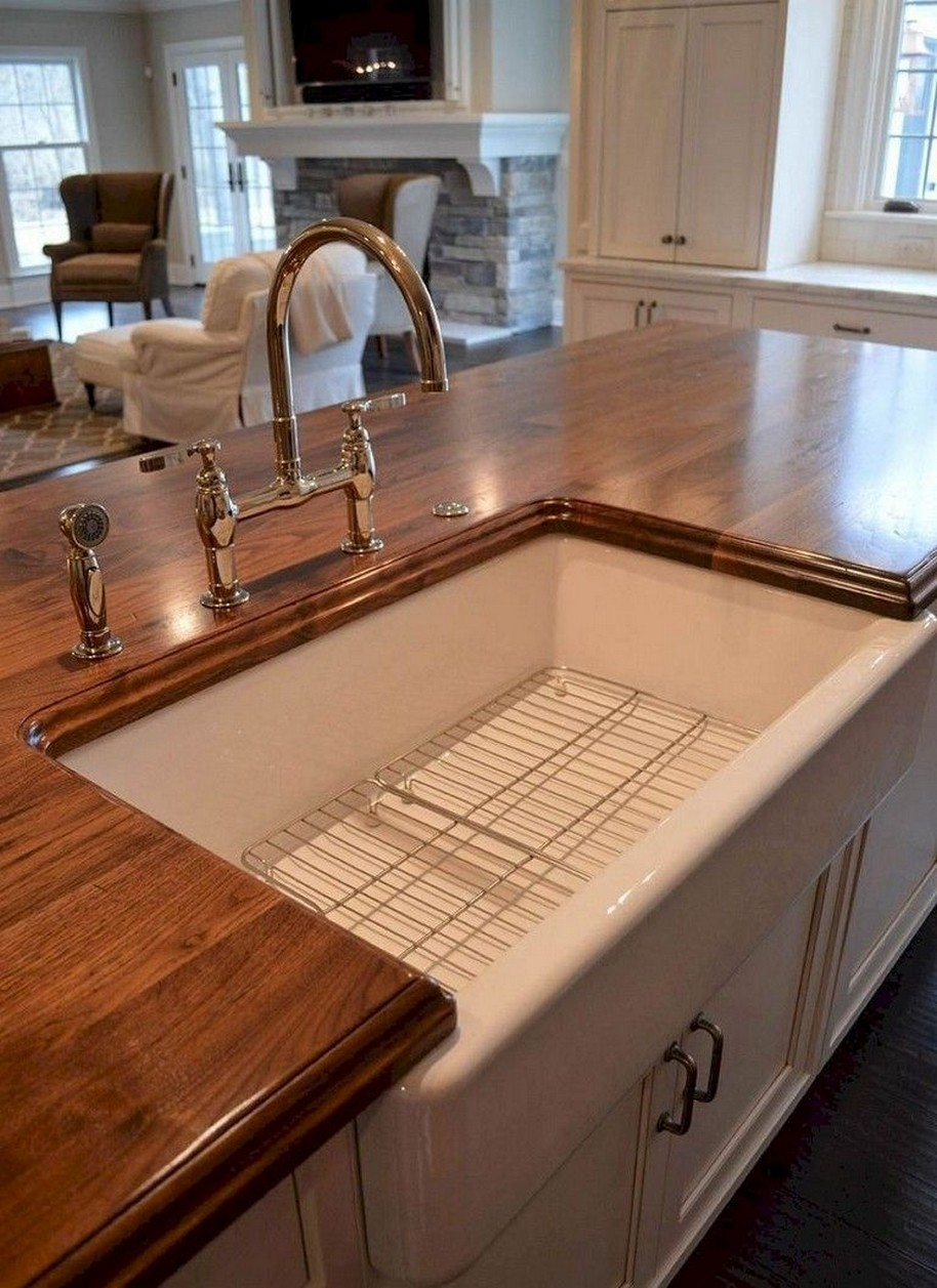 74 Things A Farmhouse Kitchen Sink Can Do For You Home Decor 38