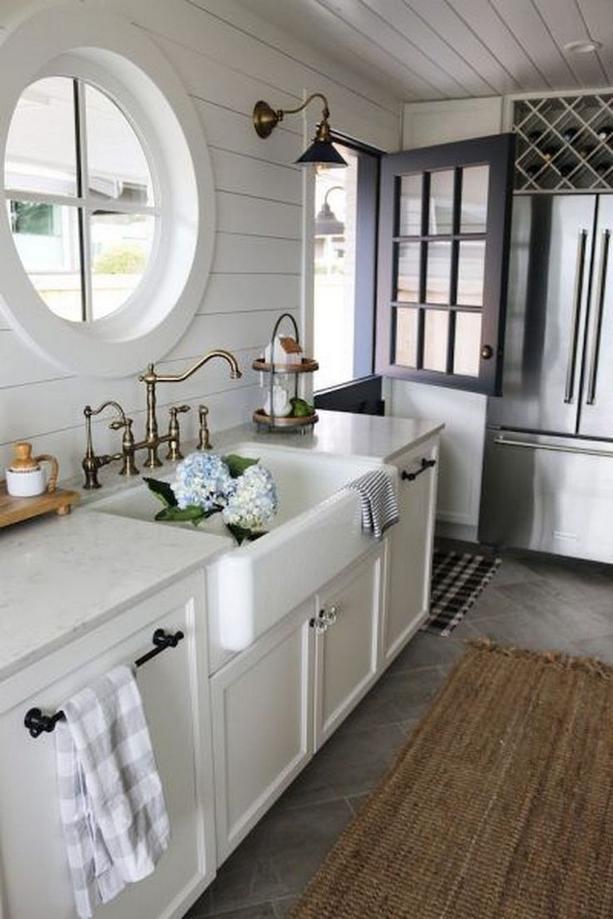 74 Things A Farmhouse Kitchen Sink Can Do For You Home Decor 39