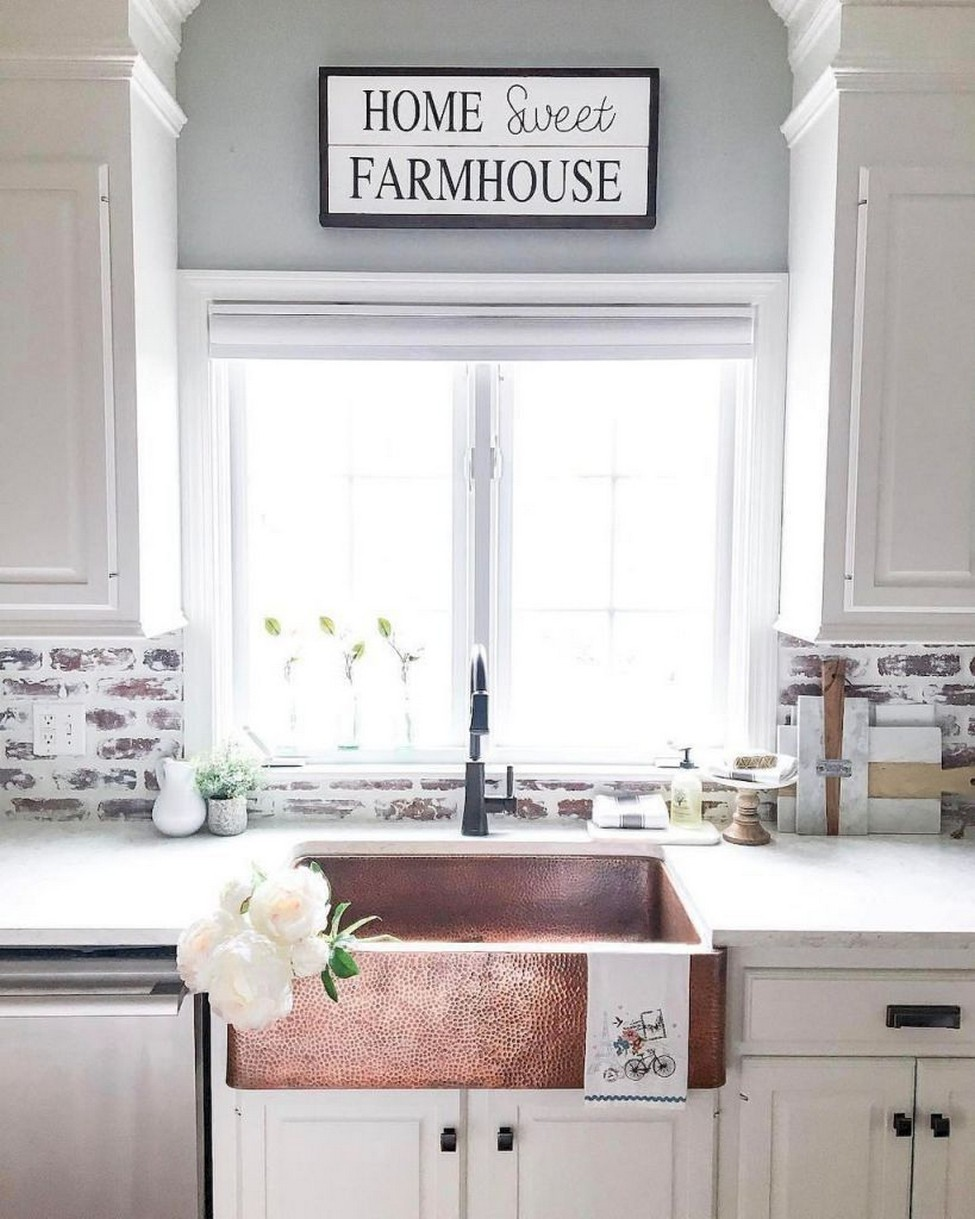 74 Things A Farmhouse Kitchen Sink Can Do For You Home Decor 67